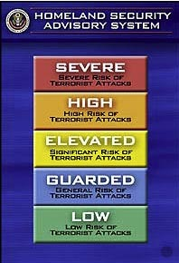 DHS Terror Alert Level