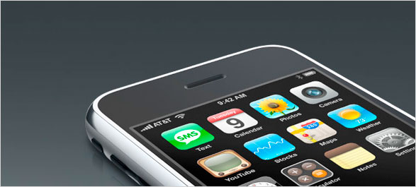 iPhone mit organischen Leuchtdioden
