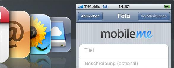 Uploadprobleme mit MobileMe