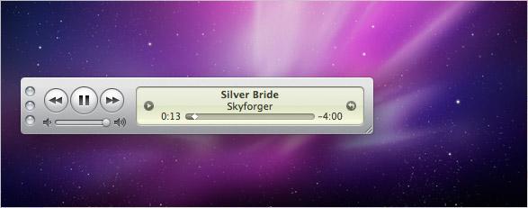 iTunes 9 - Mini-Player