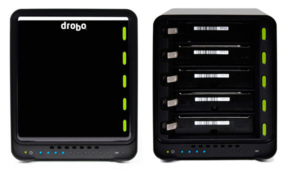 Drobo-Zuwachs bei Data Robotics