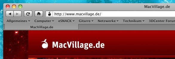 Angepasster Firefox unter Mac OS X