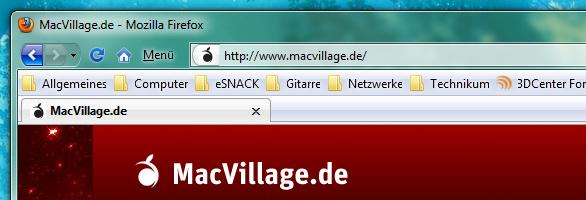 Angepasster Firefox unter Windows 7
