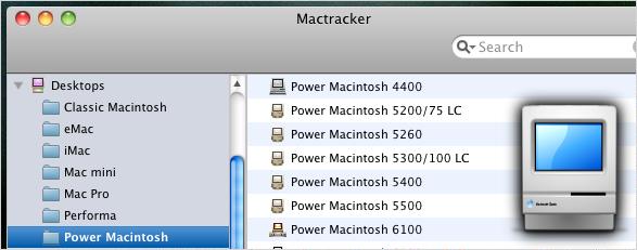 Welchen Mac habe ich? Frag Mactracker!
