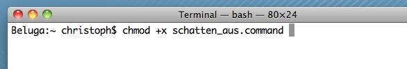 Ode an das Terminal