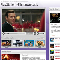 PS3 Filmdownloads