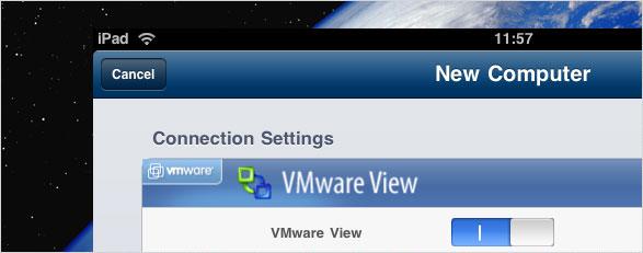 VMWare View auf dem iPad