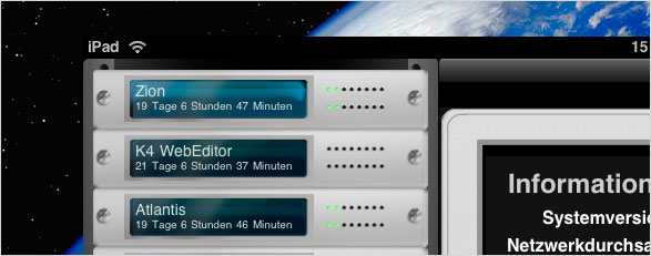 Server Admin Remote – iPad am Puls der Server