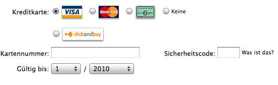 iTunes-Account ohne Kreditkarte