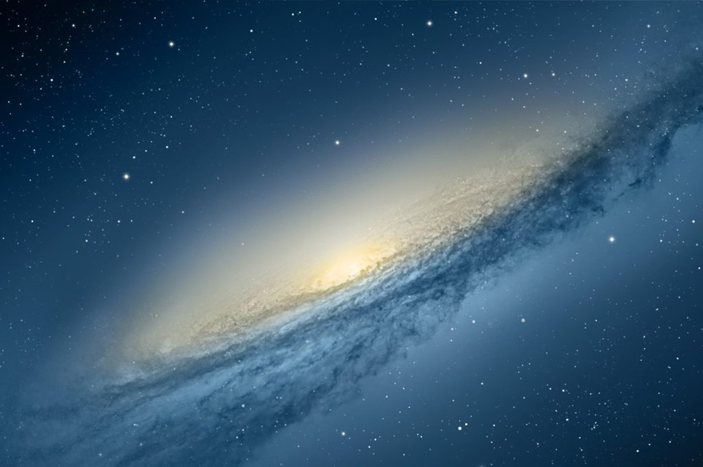 Mac OS X Wallpaper Galaxie