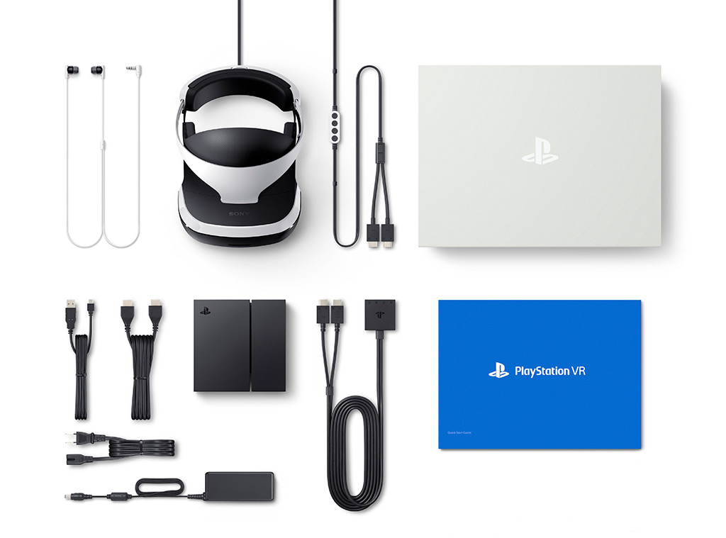 Lieferumfang PlayStation VR