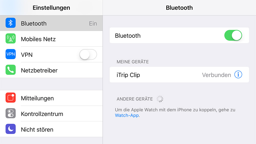 Bluetooth-Adapter mit Klinkenstecker