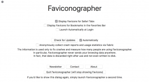 Faviconographer Screenshot