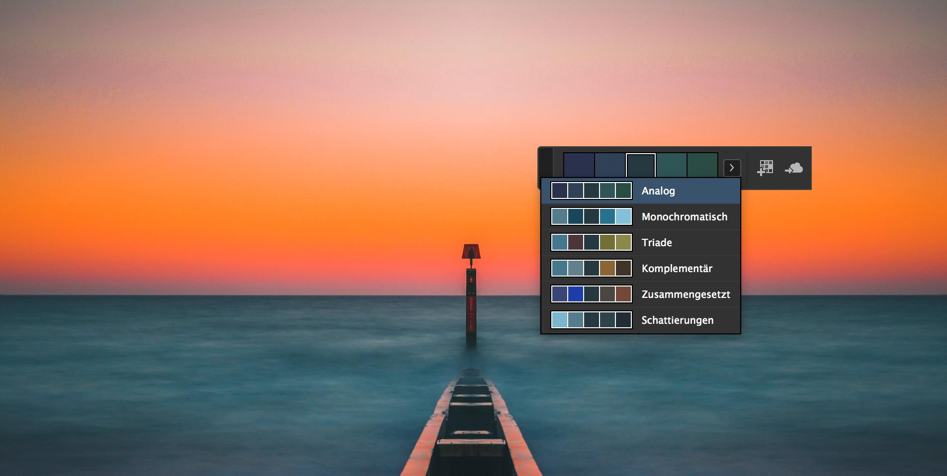 InDesign: Farbpaletten aus Bildern erstellen