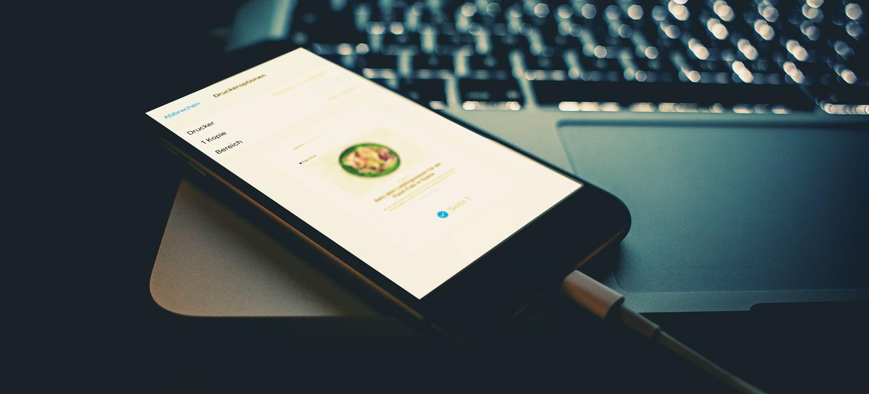 iOS: E-Mails als PDF speichern